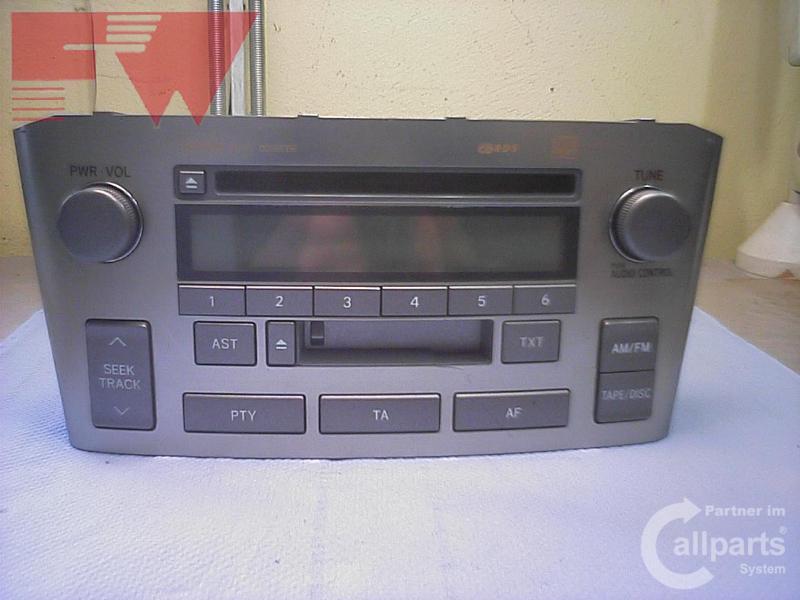 radio cd w53901 autoradio toyota avensis t25 01 03. Black Bedroom Furniture Sets. Home Design Ideas